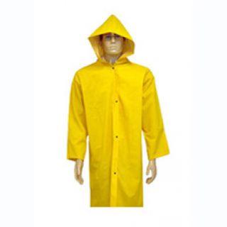 Capa de Chuva PVC Forrada Amarela